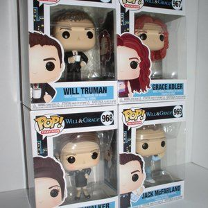 Funko Accents - Funko Pop Television  Will & Grace Set